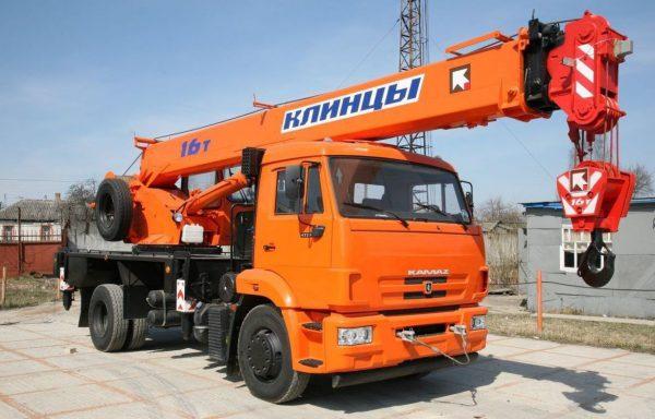 Автокран г/п 16 тонн стрела 21 метров