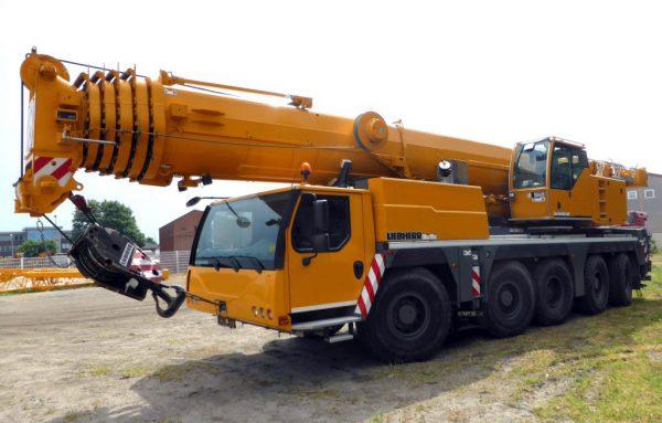 автокран 160 тонн стрела 62 метра либхер