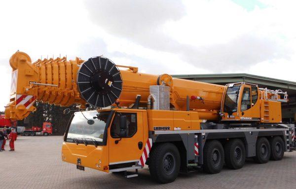 Автокран г/п 200 тонн стрела 72 метра LIEBHERR LTM 1200