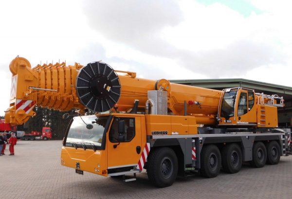автокран 200 тонн стрела 72 метра либхер