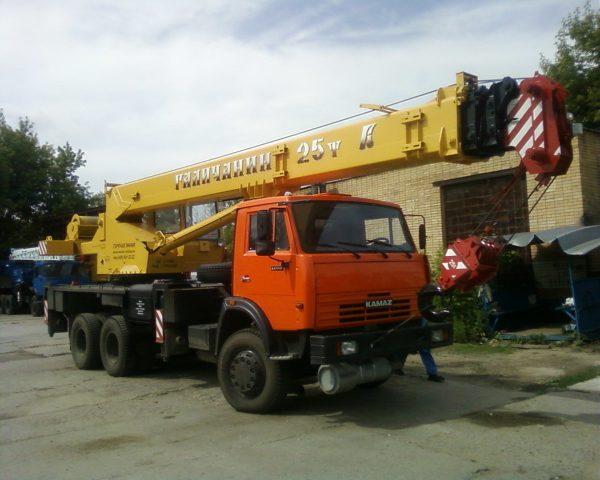 автокран камаз 25 тонн