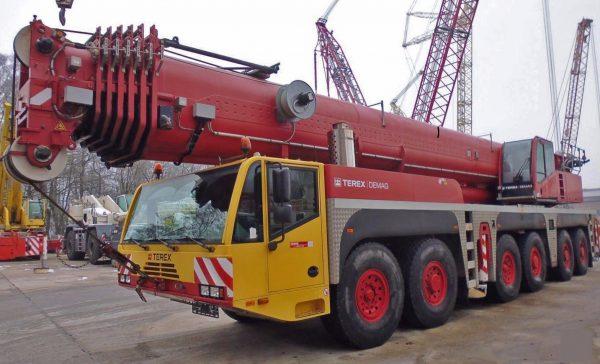 автокран 250 тонн стрела 80 метров