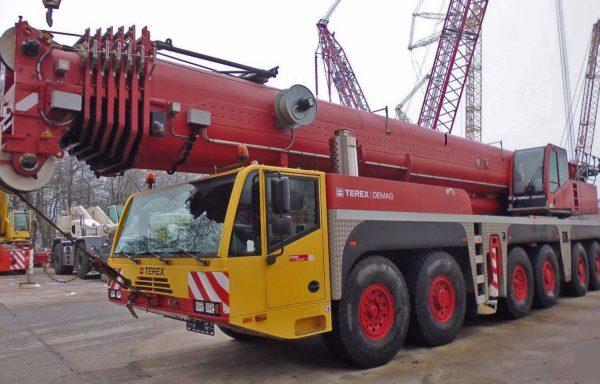 Автокран г/п 250 тонн стрела 80 метров DEMAG AC 250