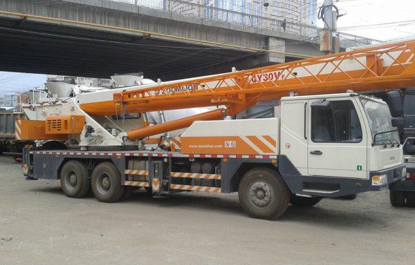 Автокран г/п 30 тонн стрела 40 метров ZOOMLION QY30V