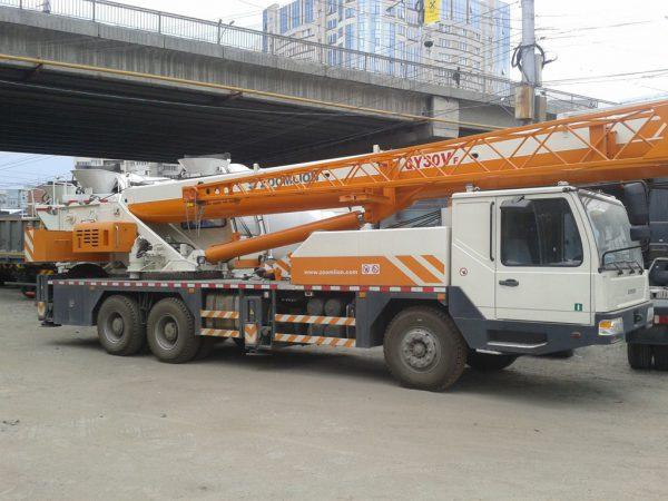 автокран 32 тонны стрела 40 метров