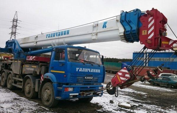 Кран 40 т. Аренда автокрана 40 тонн.