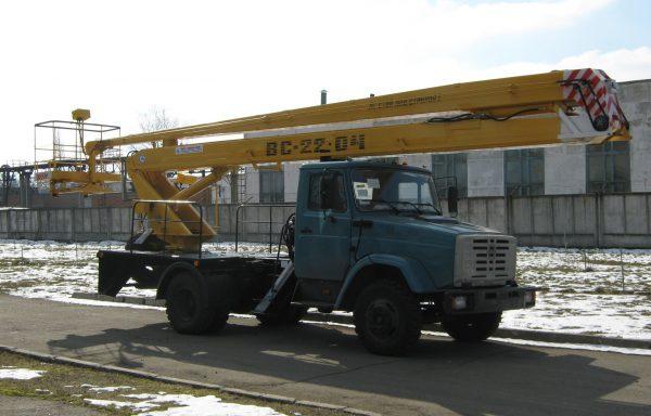 Автовышка 22 метра ЗИЛ (колено)