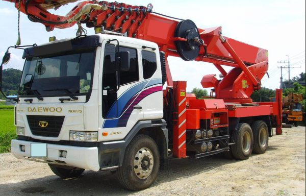 Автовышка 35 метров daewoo (телескоп)