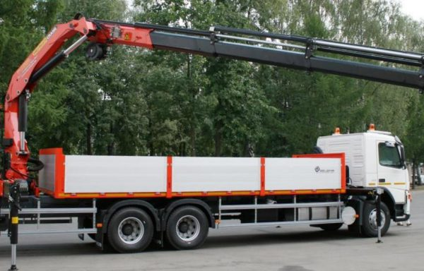 Манипулятор г/п стрелы 10 тонн 12 метров