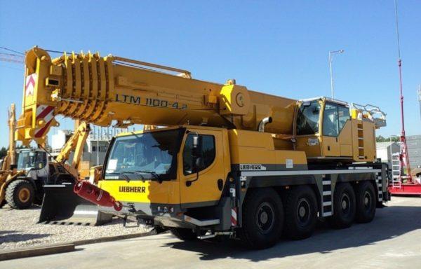 Автокран 100 тонн Liebherr LTM 1100
