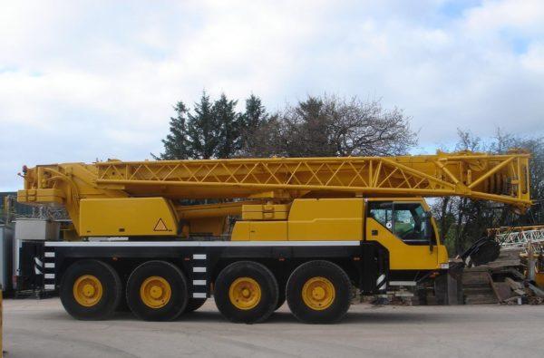 автокран 60 тонн liebherr