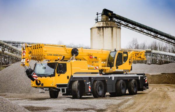 Автокран 90 тонн Liebherr ltm 1090
