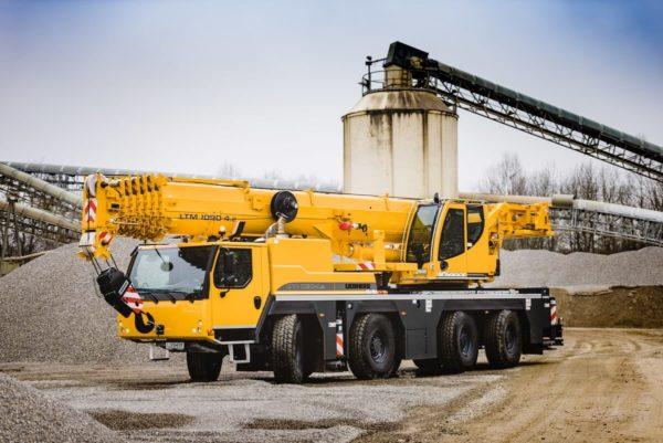 автокран 90 тонн либхер 1090