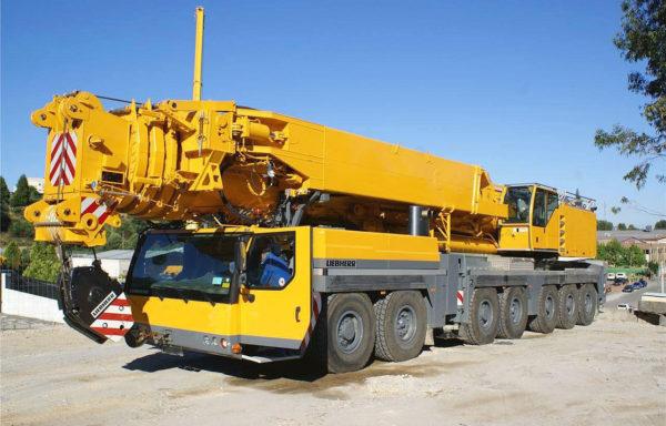 Автокран 500 тонн стрела 84 метра Liebherr ltm 1500