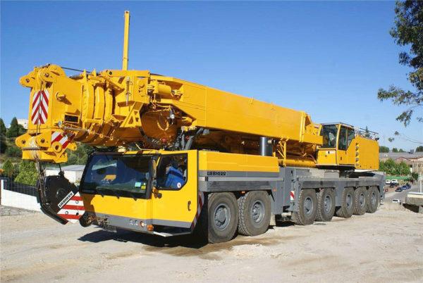 автокран 500 тонн либхер лтм 1500