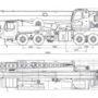 автокрана 70 тонн xcmg-qy70 габариты 1