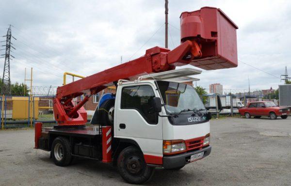 Автовышка 16 метров isuzu